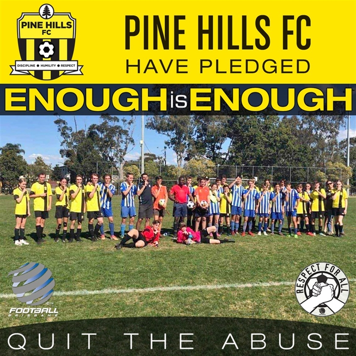 Pine  Hills FC  Enough is  Enough tile